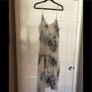 Free people sheer slip dress - Large